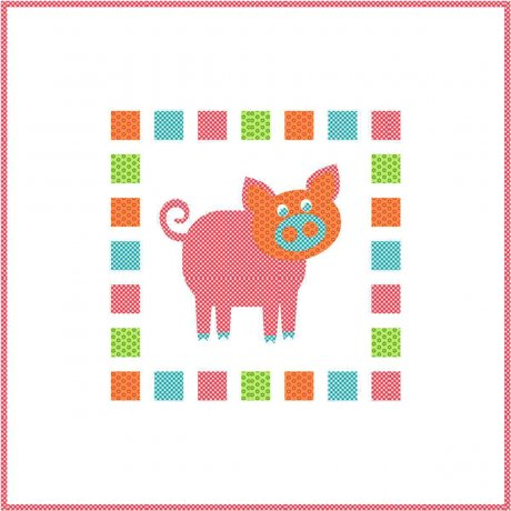 PIGGY (applique) -  PTN5010