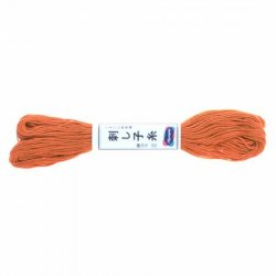 Olympus Sashiko Thread Carrot Orange