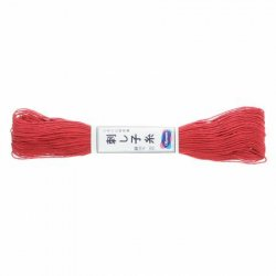 Olympus Sashiko Thread Rose Red